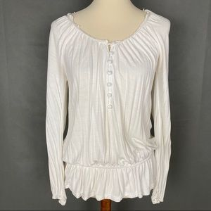 🌷OLD NAVY Peasant Blouse Top